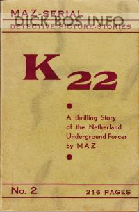 Dick Bos - K22,  Engelse versie